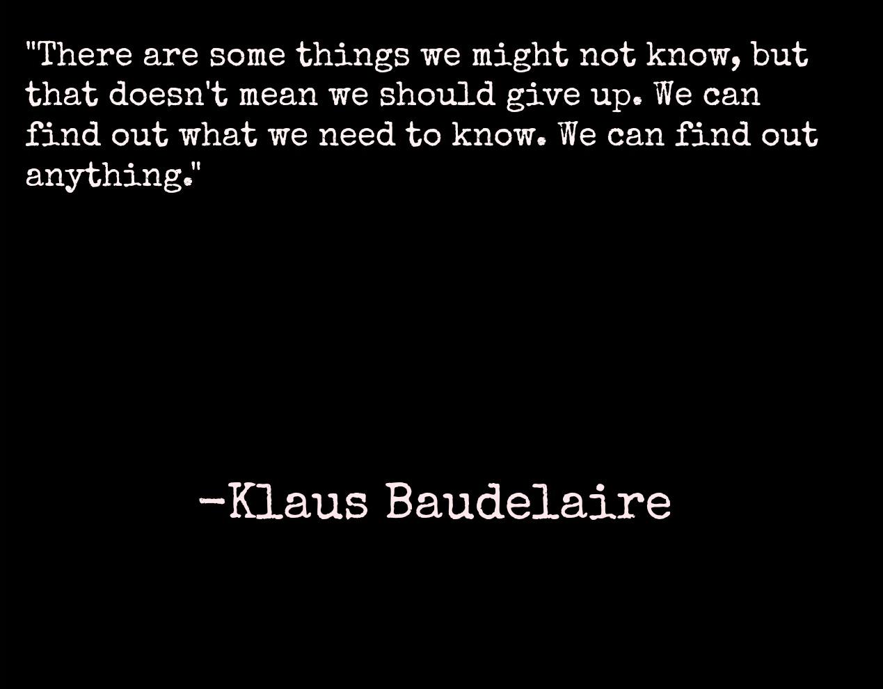 Sunny Baudelaire Quotes. QuotesGram