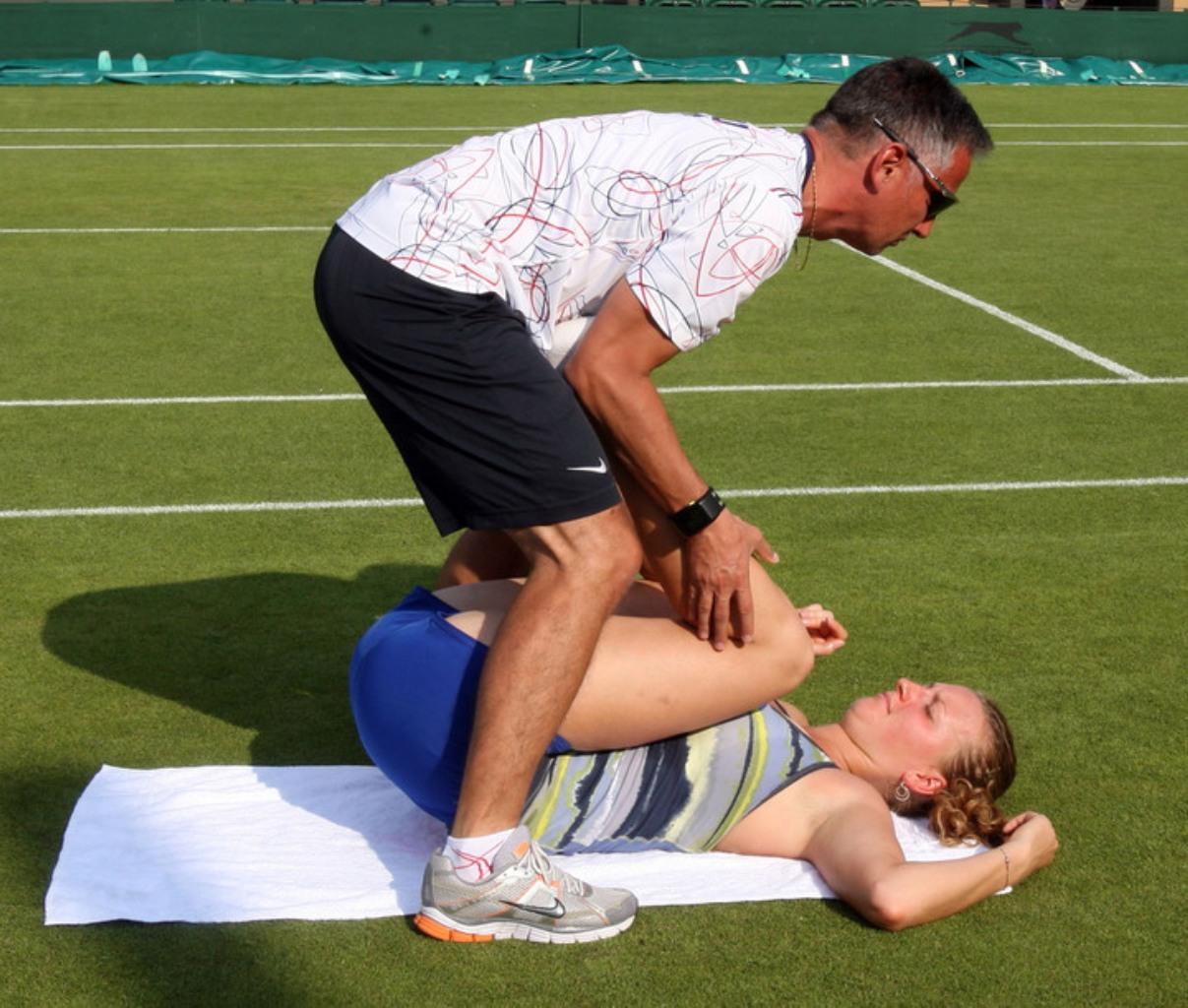 Kvitova sexy rehabilitation