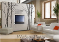 Large Size Winter Tree Wall Stickers