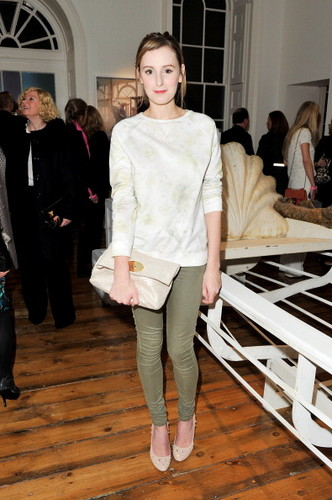 Laura at the Tim Walker Story Teller: Supported Von Mulberry