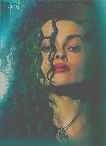 Lestrange. Bellatrix Lestrange.