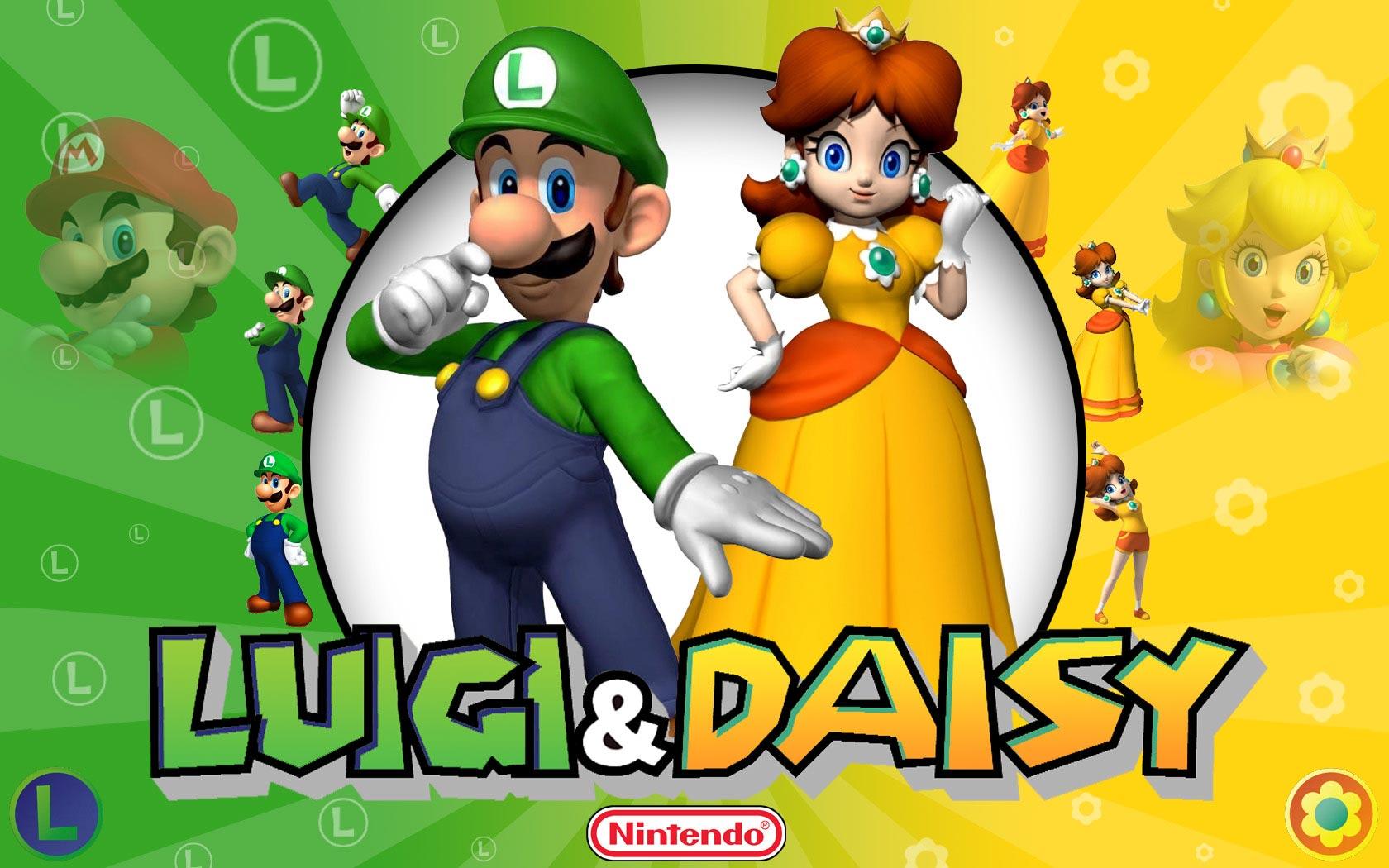 Luigi and गुलबहार, डेज़ी