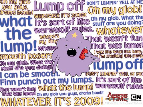 Lumpy Space Princess پیپر وال
