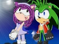 Manic  and  Sophie - sonic-girl-fan-characters photo
