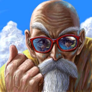 Dragon Ball Z fond d'écran entitled Master Roshi