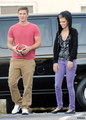 Matt&AnnaLynne on set of season 5