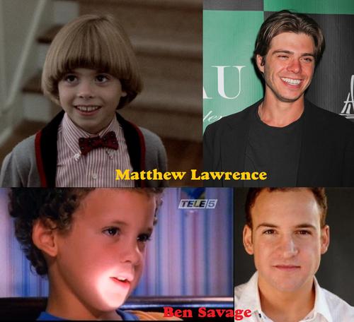 Matthew & Ben as children