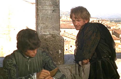Mercutio & Benvolio Waiting for Romeo