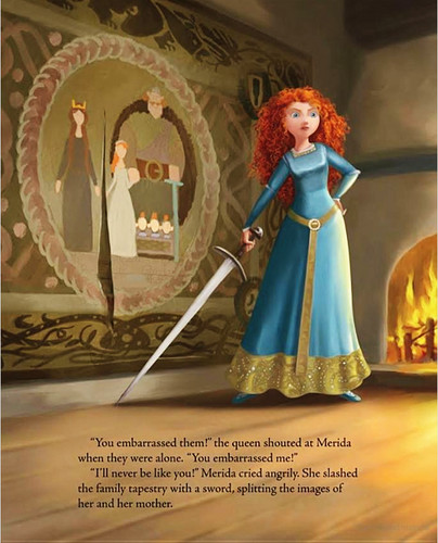 Brave images Merida and Elinor