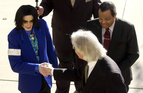 Michael And Attorney, Tom Messereau