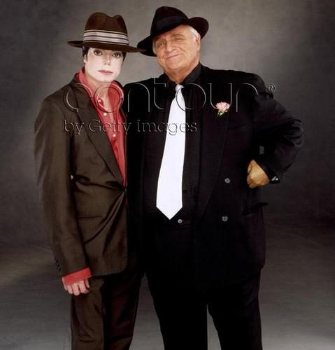 Michael And Good Friend, Marlon Brando