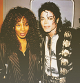 Michael & Donna - michael-jackson photo