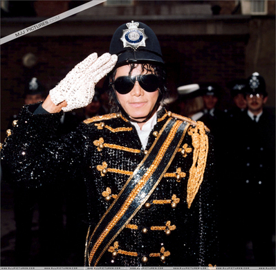 Michael In Londres Around The Mid-80's