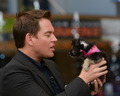 "Michael Weatherly @ ""Extra"" - michael-weatherly photo"