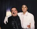 Michael and Frank Dileo - michael-jackson photo