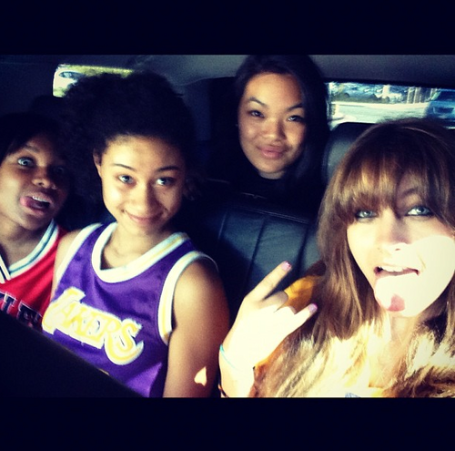 Michaela, Niki, and Paris <3 10/20/12
