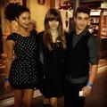 Michaela, Paris and Shak at DWTS 2012 October ♥♥ - paris-jackson photo