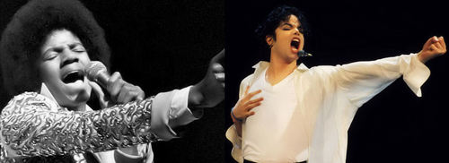 Michael Then & Now