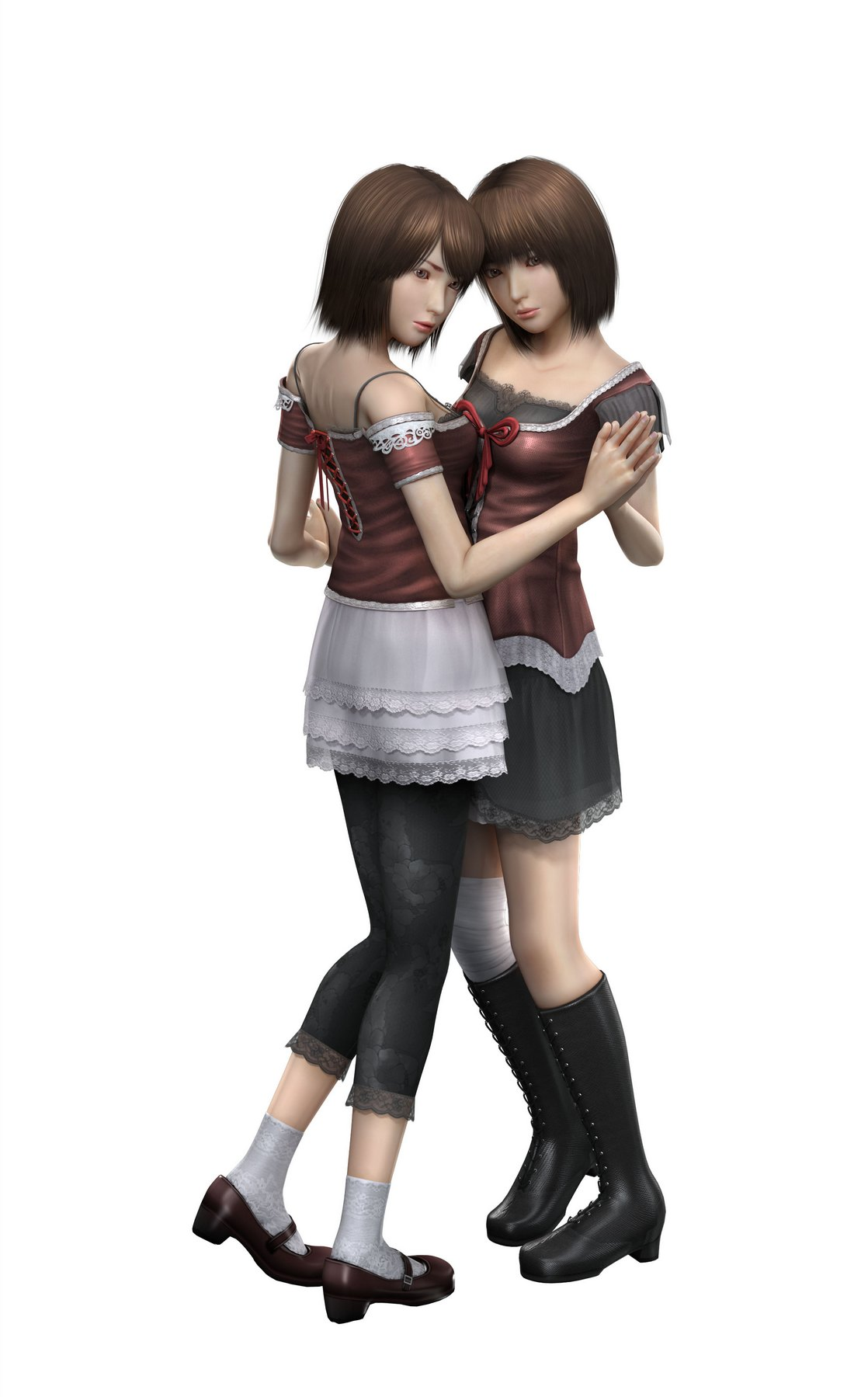 Fatal Frame : Deep Crimson Butterfly images Mio, Mayu HD wallpaper ...