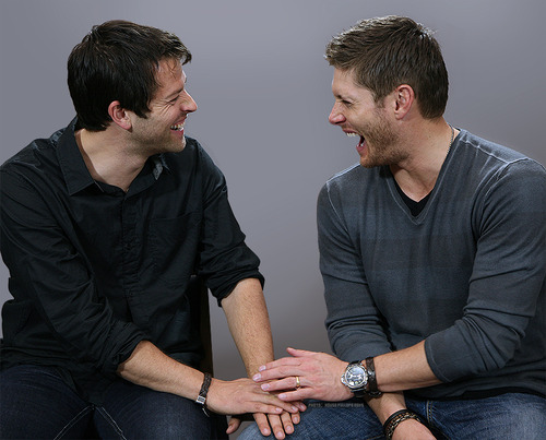 Misha & Jensen - Jensen Ackles and Misha Collins Photo ...