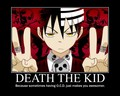 Motivational Poster - death-the-kid photo