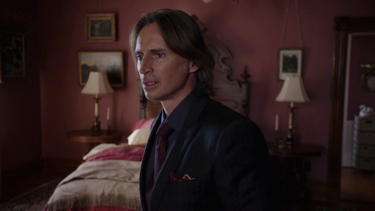 Once Upon A Time Wallpaper With Business Suit Called Mr Gold