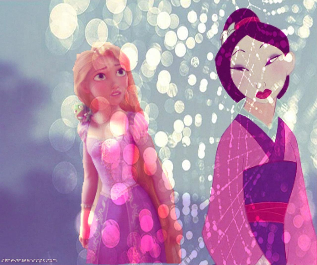 Mulan & Rapunzel