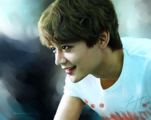 magicalfairy 壁纸 possibly containing a portrait entitled My Prince Minho