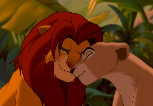 Disney Couples wallpaper entitled Nala & Simba