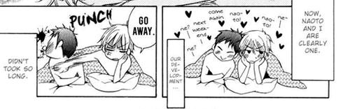 Naoto and Hajime