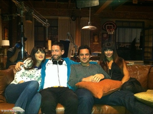 New Girl Behind the Scenes