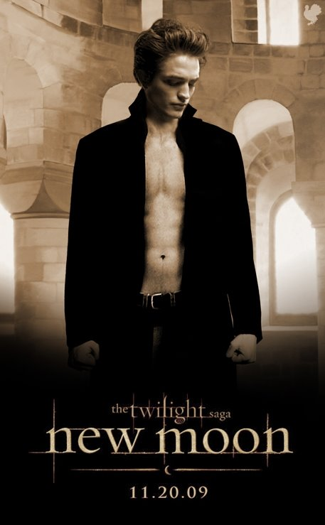 New Moon Edward poster