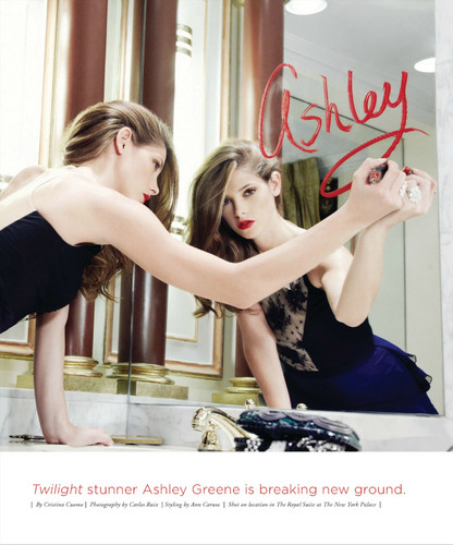 New Scans: Ashley for Riviera, San Diego - November 2012.