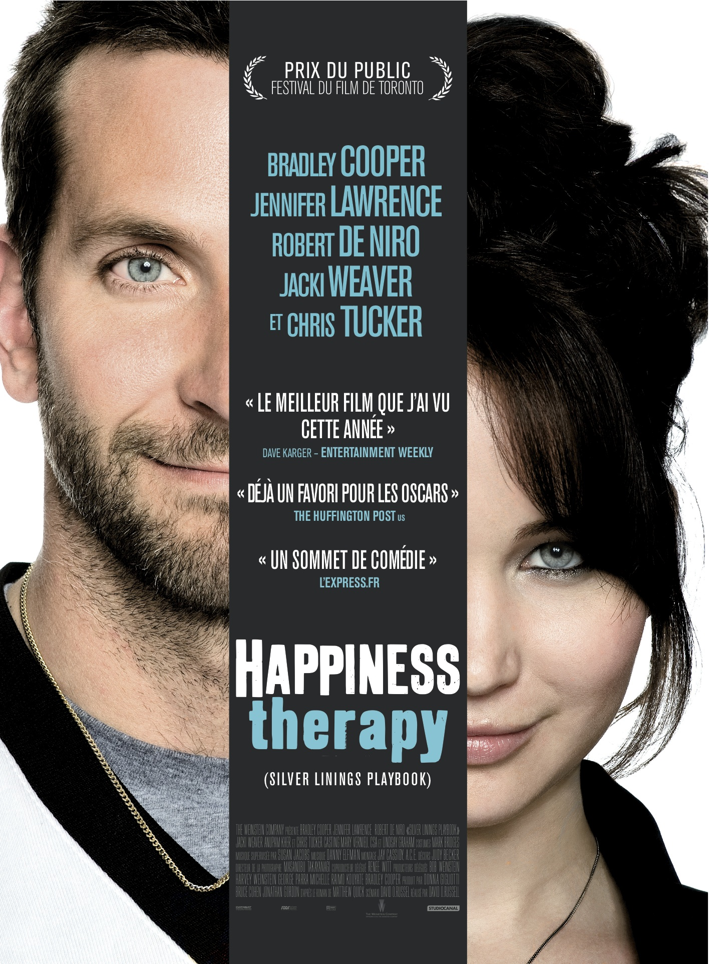 "New ""The Silver Linings Playbook"" Poster [France]. - Jennifer Lawre..."