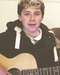 Niall and his guitar - niall-horan icon