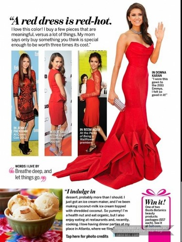 Nina Dobrev Self Magazine (November 2012)