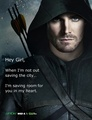 Oliver queen whisper - arrow-cw photo