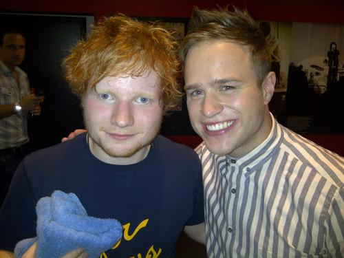 Olly Murs and Ed Sheeran