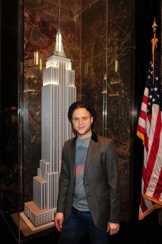 Olly in New York (28th September 2012)