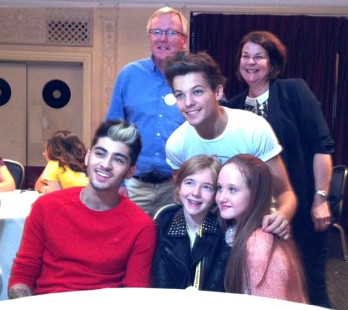 One Direction At Rays Of Sunshine Today (10/26/12)