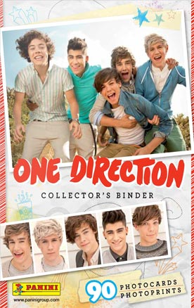 One Direction card album (i got it)