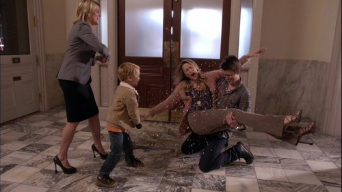 Clay and Quinn wallpaper possibly containing a living room, a drawing room, and a street titled One Tree Hill