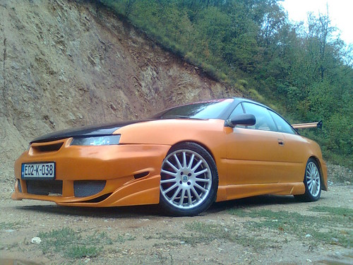 跑车 壁纸 possibly containing a sports car and a roadster called Opel Calibra Tuning