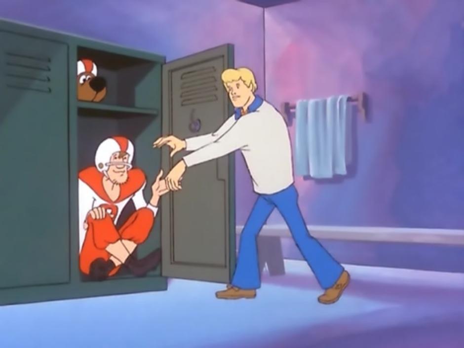 Outta That Locker..!