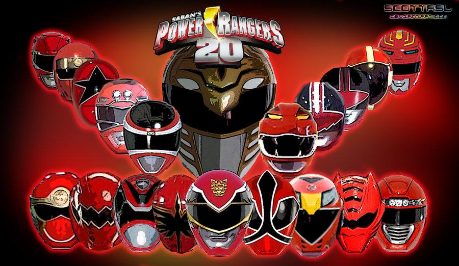 Power Rangers 20 Anniversary