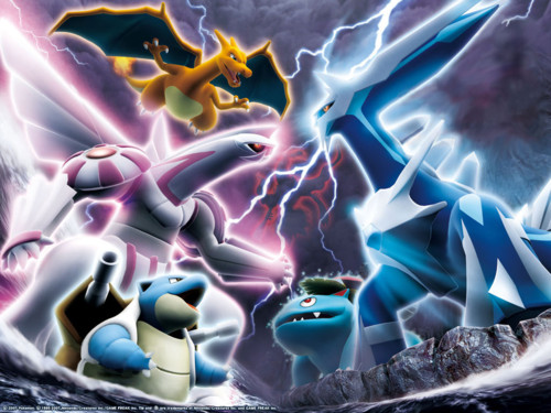 Palkia and Dialga