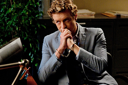 The Mentalist wallpaper possibly containing a business suit titled Patrick Jane
