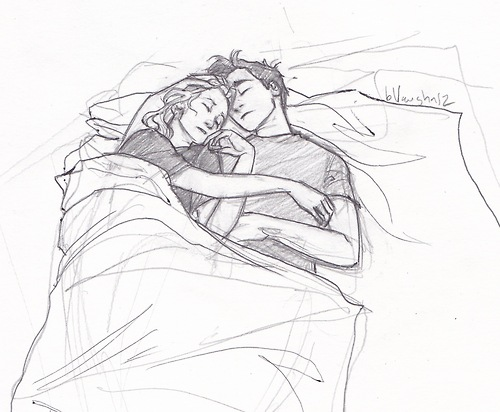 Percabeth scene from Mark of Athena