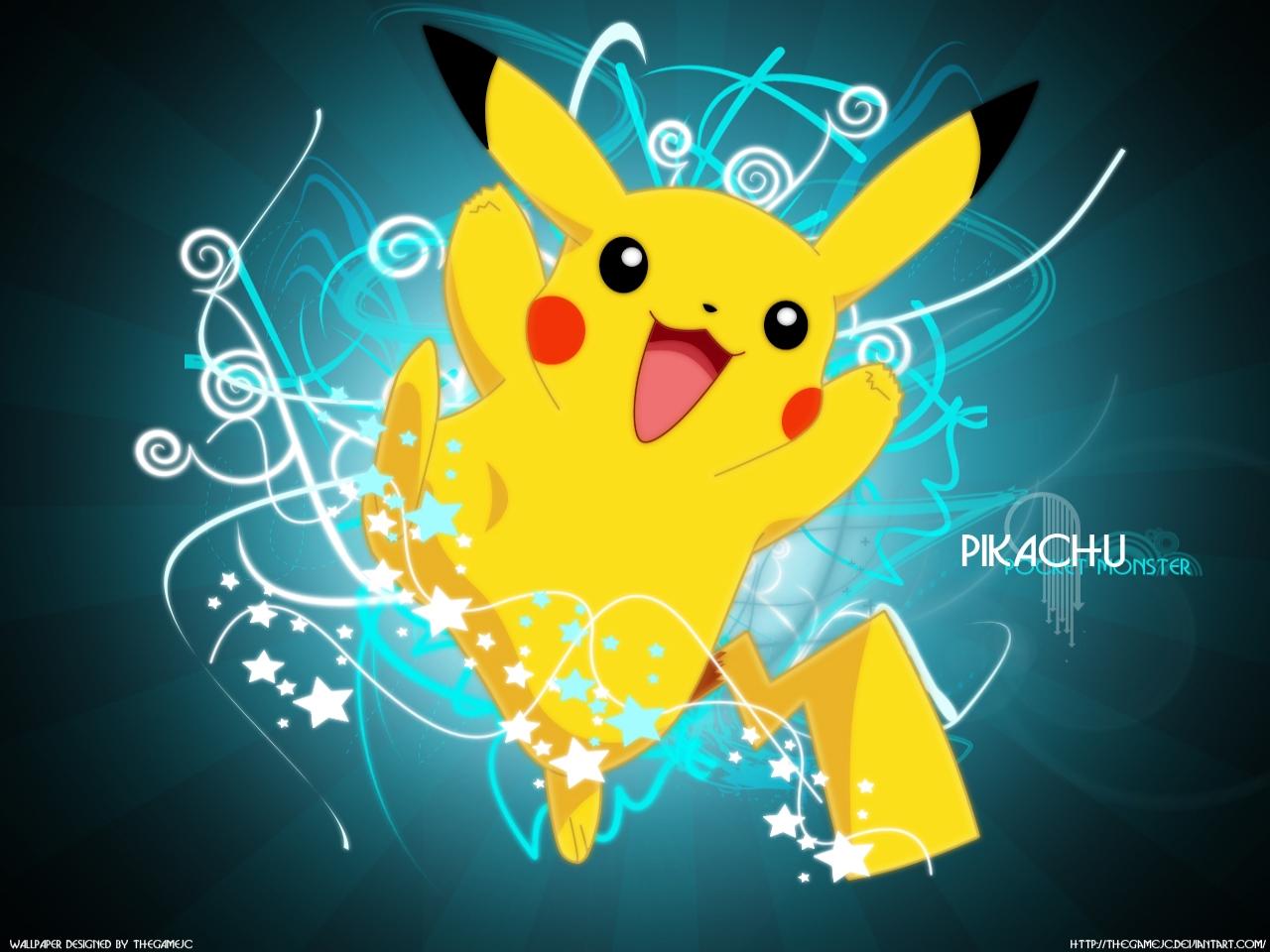 Pikachu achtergrond