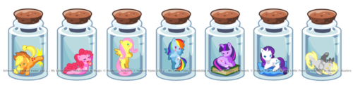 Ponies in Bottles